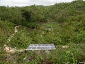 Pengadaan Air Bersih dengan Sistem Pompa Air Tenaga Surya